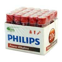 Philips AAA Alkaline Battery 20-Pack