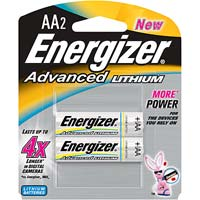 Energizer Advanced Lithium AA Battery 2 Pack