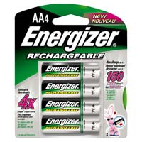 Energizer Energizer Rechargeable Ni-MH AA Battery 4-Pack