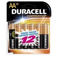 Duracell AA Alkaline Battery 12 Pack