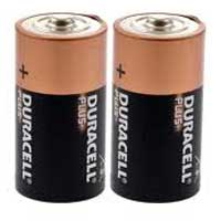 Duracell C Batteries 2-Pack