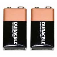 Duracell 9V Batteries 2-Pack