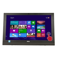 """Dell Inspiron 20 3000 Series 19.5"""" Touchscreen All-in-One Desktop Computer"""