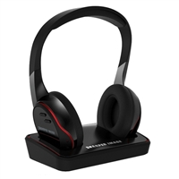 Sharper Image SHP925 Wireless Headphones - Black