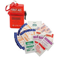 Lifeline Weather Resistant First Aid Kit - 28pc