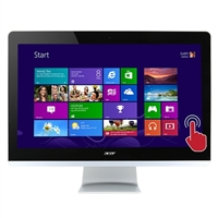 "Acer Aspire AZ3-710-UR52 Touchscreen 23.8"" All-in-One Desktop Computer"