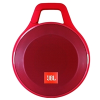 JBL Clip+ Portable Bluetooth Speaker - Red