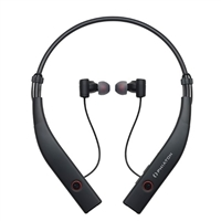 Phiaton BT 100 Wireless Active Noise Cancelling Earphones w/ Mic - Black