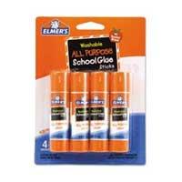 Elmer's Washable GlueSticks 4 pack