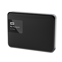 WD Passport 1TB USB SuperSpeed 3.0 Portable External Hard Drive Formatted for Mac