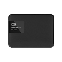 WD 3TB External Portable Hard Drive Formatted for Mac