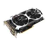 MSI Radeon R9 380 Overclocked 2GB GDDR5 PCI-e Video Card
