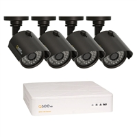 Digital Peripheral Solutions 4 Channel HD DVR with 4 720p Analog Camera and 1TB Hard Drive.