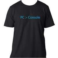 Ulla Ltd. Designs PC > Console T-Shirt Large - Black