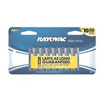 Rayovac Alkaline AA Batteries 16-Pack