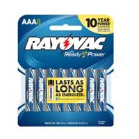 Rayovac Alkaline AAA Batteries 8-pack