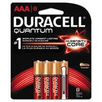Duracell Quantum AAA Alkaline Batteries - 8 Pack