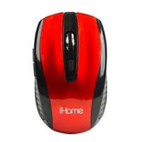 IPSG Wireless Desktop Mouse - Red