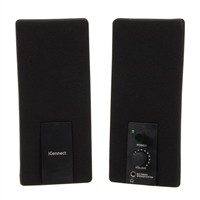 IPSG iConnect Sound Stream PC Speaker System - Black