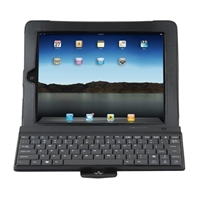 iHome Type Original Bluetooth Keyboard Case for iPad 2/3/4 - Black