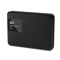 "WD My Passport Ultra 3TB 5,400 RPM SuperSpeed USB 3 2.5"" External Hard Drive - Black"