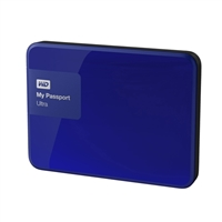 "WD My Passport Ultra 3TB 5,400 RPM SuperSpeed USB 3 2.5"" External Hard Drive - Blue"
