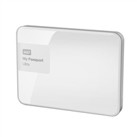 "WD My Passport Ultra 3TB 5,400 RPM SuperSpeed USB 3 2.5"" External Hard Drive - White"