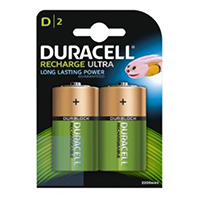 Duracell D-Cell Recharge Ultra