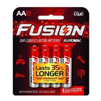 Rayovac Fusion AA - 8 Pack