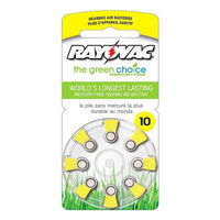 Rayovac Hearing Aid Battery 10 - 8 Pack