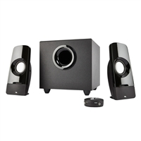 Cyber Acoustics CA-3050 Curve.Blast 2.1 Channel Sound System