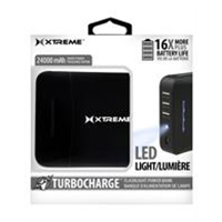 Xtreme Cables 24,000mAh Turbocharge USB Power Bank