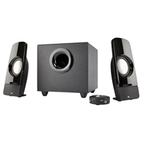 Cyber Acoustics CA-3350 Curve.Storm 2.1 Channel Sound System