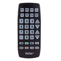 Vivitar Large Universal Remote Control