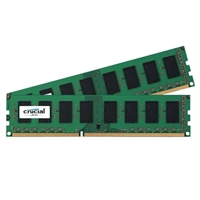 Crucial 8GB DDR3L-1866 (PC3-14900) CL13 Desktop Memory Kit Two 4GB Memory Modules