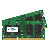 Crucial 8GB DDR3-1866 (PC3-14900) CL13 Laptop Memory Kit Two 4GB Memory Modules