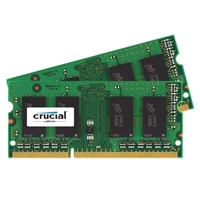 Crucial 16GB 2 x 8GB DDR3L-1866 CAS 11 Low Voltage 1.35V Laptop Memory Kit