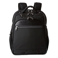 "Kenneth Cole Pro-Series Laptop Backpack Fits Screens up to 15.6"" - Black"