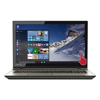 "Toshiba Satellite S55T-C5264-4K 15.6"" Laptop Computer - Brushed Metal Finish"