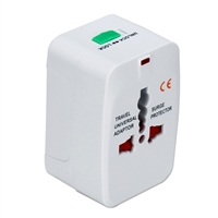 QVS Premium World Power Travel Adapter Kit w/ Surge Protection