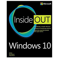 Pearson/Macmillan Books Windows 10 Inside Out