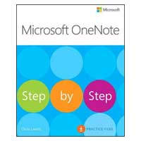 Pearson/Macmillan Books Microsoft OneNote 2016 Step by Step