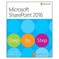 Pearson/Macmillan Books Microsoft SharePoint 2016 Step by Step