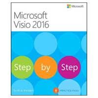 Pearson/Macmillan Books VISIO 2016 STEP BY STEP