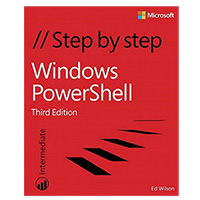 Pearson/Macmillan Books Windows PowerShell Step by Step, 3rd Edition