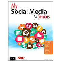 Pearson/Macmillan Books My Social Media for Seniors, 1st Edition