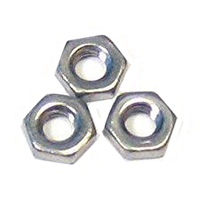 M3-0.5 Stainless Nuts - 100 Piece