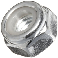 M3-0.5 Steel Lock Nuts - 100 Pieces