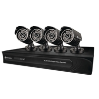 Swann Communications 8 Channel 960 Digital Video Recorder & 4 x PRO-615 Cameras
