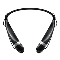 LG Tone Pro 760 Bluetooth In-Ear Headset - Black